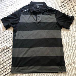 Men's Oakley golf polo